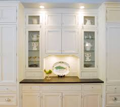glass image on ikea white kitchen cabinets with glass