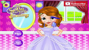 sofia the first makeup ugly to beautifull fashion makeover game video dailymotion