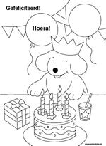 We4you2 Kleurplaten Van Verjaardag En Partijtjes Speciale Dag
