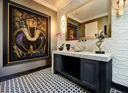 Powder room lighting Dramatic Always On Trend 20 Powder Rooms In Black And White Gymsbydesignco Powder Room Lighting Democraciaejustica