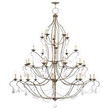antique gold chandelier
