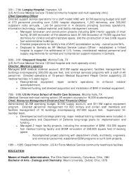 Air Force Resume Samples Sarahepps Com