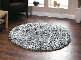 round rug round rug black and white rug
