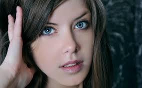 Wallpaper : blue eyes, girl 1920x1200 ...
