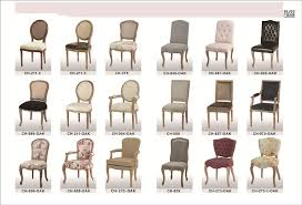 antique dining chair styles