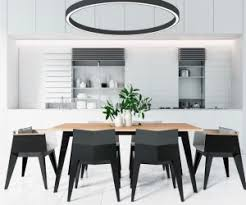 modern black white. exellent black 30 black u0026 white dining rooms that work their monochrome magic  modern  to u