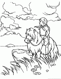 Free printable coloring pages for kids! Landscape Coloring Pages