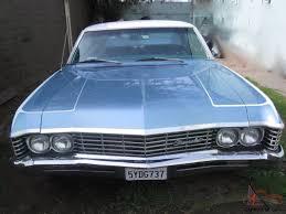 Chevy Impala 327 V8 2 Door Hardtop Blue Total Body Restoration