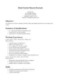 Retail Resume Description Resume Resume Description For Sales Associate Clothing Sample