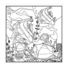 Aquarium Dreams Adult Coloring Book With Bonus Relaxation