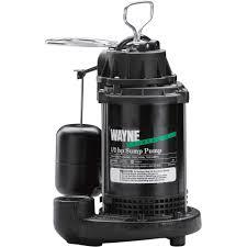 wayne cast iron submersible sump pump 3900 gph 1 2 hp 1 1 2in wayne cast iron submersible sump pump 3900 gph 1 2 hp 1