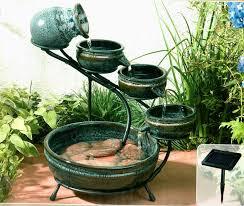 Fontana Cascata Da Giardino : Fontana solare zen ceramica il portale del sole