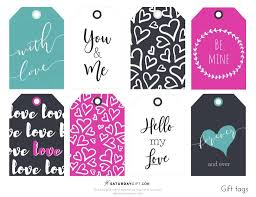 Choose from hundreds of templates, add photos and your own message. Cute Colorful Valentine S Day Gift Tags Free Printable Saturdaygift