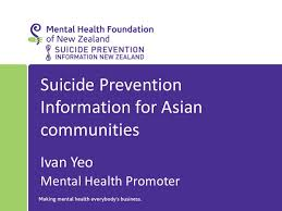 suicide prevention information for asian communities