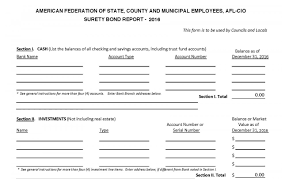 surety bond form resources for local treasurers afscme new mexico