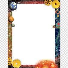 Chart Design Border White Printer Paper Science Chart Physics Science Border