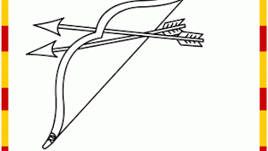 Small Picture Indian Bow And Arrow Coloring Page Coloring Coloring Pages