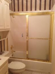 removing the sliding shower door
