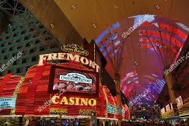 Las Vegas Light Show 2018 Neon Lights Casinos Fremont Street Light Show Editorial