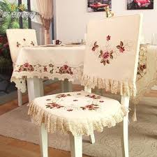 dining table chairs covers fashion embroidered rustic dining table fabric chair cover chair cushion backrest covers comfortable customize dining table chair