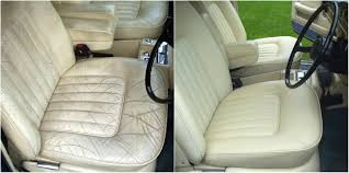fully red silver shadow leather interior using furniture clinic products