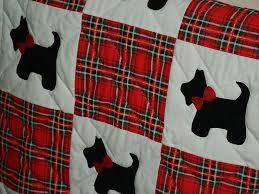 668 best Scottie Stuff images on Pinterest | Scottie dogs ... & scottie dog baby quilt Adamdwight.com