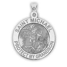 saint michael protect my grandson