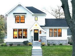 exterior vinyl windows painting trim on