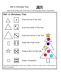 Roll A Christmas Tree Printable Game | A to Z Teacher Stuff ...