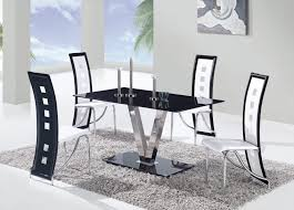 dining room table contemporary glass dining table white dining table and chairs modern table and chairs