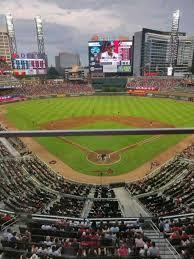 Suntrust Park Section 326 Home Of Atlanta Braves