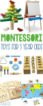Montessori Gifts 3 Year Olds Love - Natural Beach Living