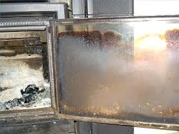 clean wood stove glass how to clean the glass door of a wood stove or fireplace