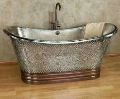 painting a clawfoot bathtub metallic tub jpg