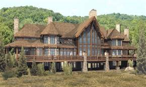 biggest luxury log home luxury log cabin home plans