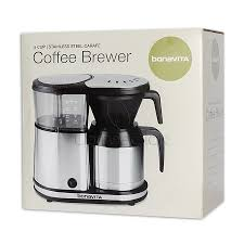 5 Cup Coffee Maker Bonavita 5 Cup Coffee Brewer With Stainless Steel Lined Thermal Carafe