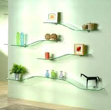amazing modern wall shelving shelf decor corner floating decorative glass unit idea system uk mounted book