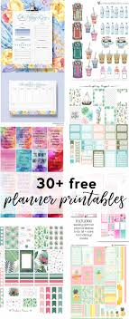 free daily planner printables daily planner printable free happy planner printables