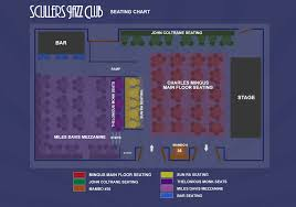 Scullers Jazz Club Scullers Seating Chart