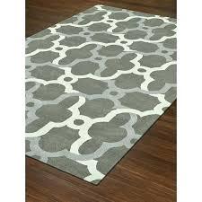 nuloom moroccan blythe area rug 8x10 grey ivory