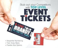 Event Ticket Printing Software Free Printable Raffle Tickets Ticket Printing Design Software Modern