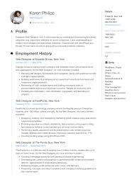 Technical Design Document Sample Pdf 12 Free Web Designer Resume Examples 12 Samples Pdf