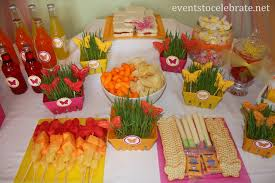 erfly birthday party lunch food display eventstocelebrate net