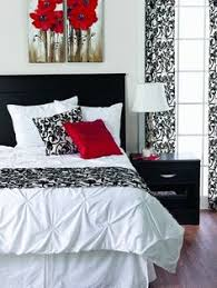 Delightful More Red, Black And White! Striking! Want To See More?  Www.signaturehomestyles.biz/steinbrink