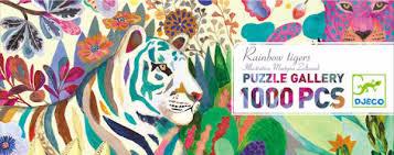 1000 Pcs Jigsaw Design Client Djeco Paris 2016 Martyna Zoltaszek
