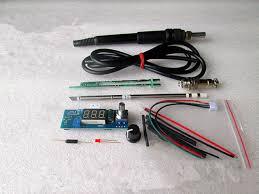 new digital led soldering iron station welding soldering diy kits for hakko t12
