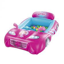 <b>Надувной</b> игровой центр <b>BestWay</b> Машина <b>Barbie</b> с 25 шариками ...