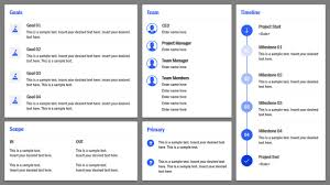 Project Powerpoint Project Charter Powerpoint Template