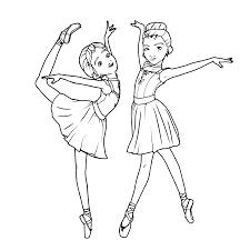 Leuk Voor Kids Kleurplaat Bs Tea Parties Ballerina Coloring