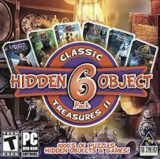All hidden object games are 100% free, no payments, no registration required,no time limits. Amazon Com Hidden Object Classic Treasures Ii 6 Great Games Collectors Editions Included Video Games